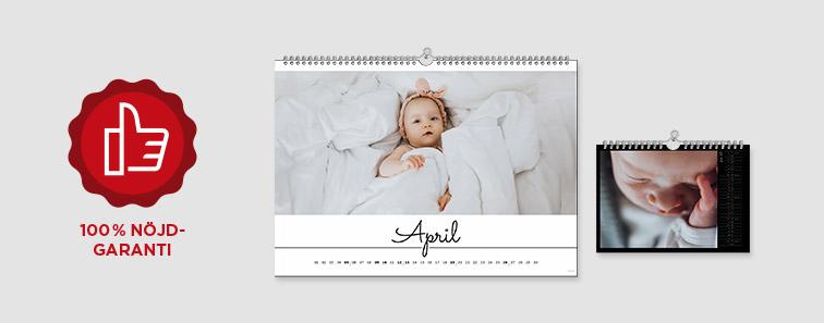 CEWE Kalender - Nöjdhetsgaranti