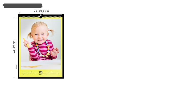 Väggkalender A3 - stående