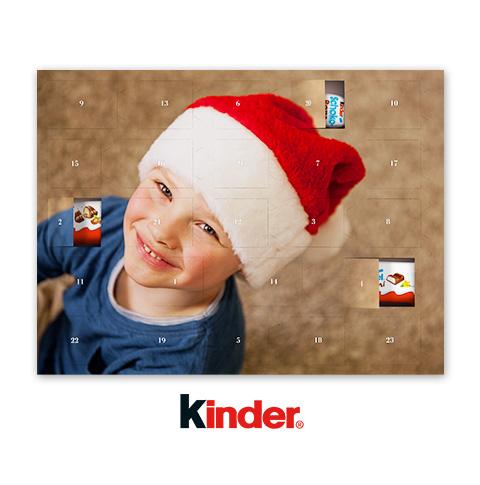 Chokoladkalender med Kinder® choklad