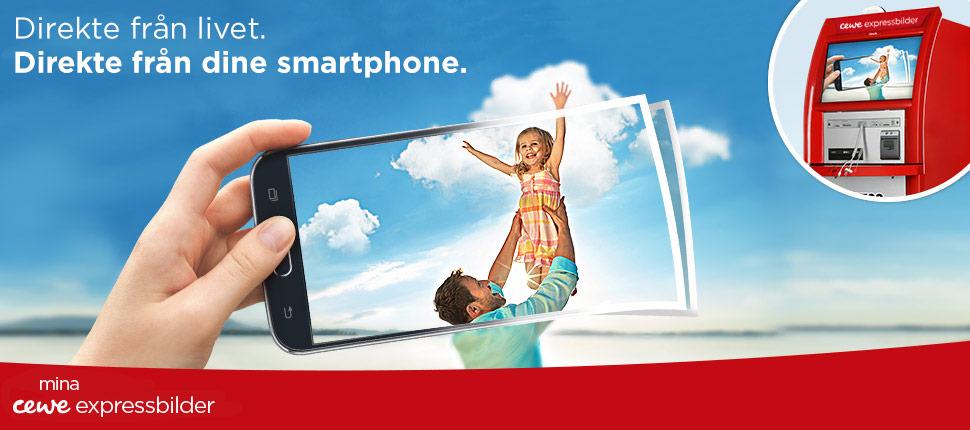 Direkte från livet - Direkte från din smartphone.
