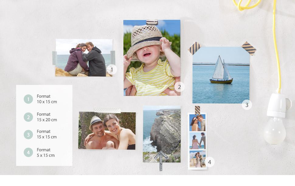 Uendelige muligheder med fotos - fra dekoration til gave