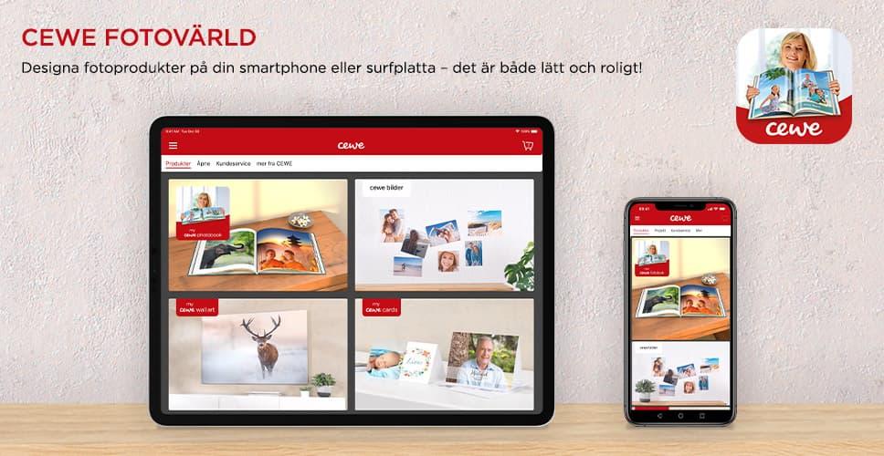 CEWE FOTOVÄRLD app