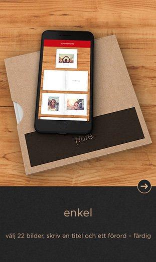 CEWE FOTOBOK Pure app - enkel