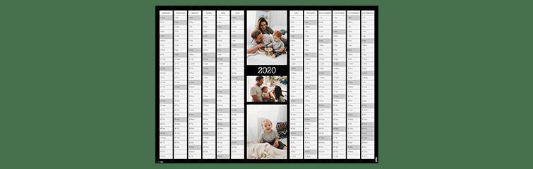 Årsplaneringskalender A2