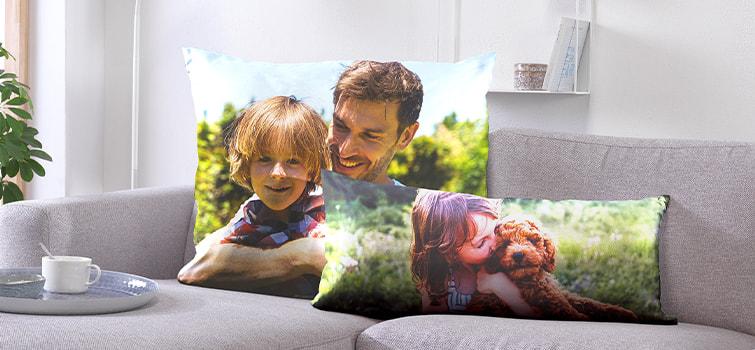 Fotopresenter - textilier