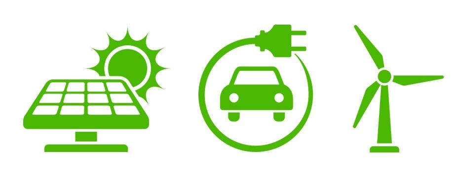 Vi tänker på framtiden: reducering av CO2-utsläpp