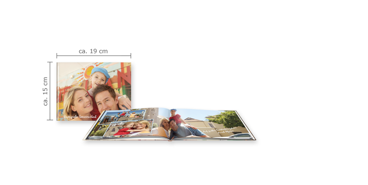CEWE FOTOBOG Kompakt panorama: Hardcover-indbinding