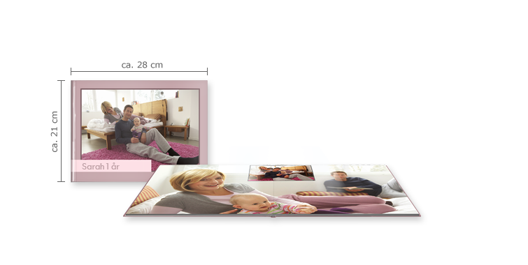 CEWE FOTOBOG Stor panorama: Blankt fotopapir