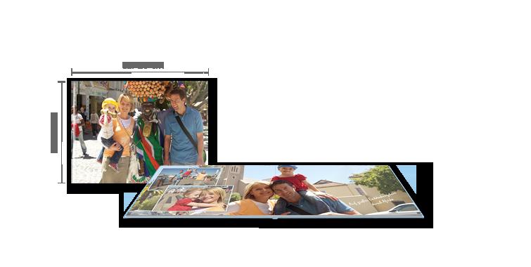 CEWE FOTOBOG Stor panorama: Mat fotopapir