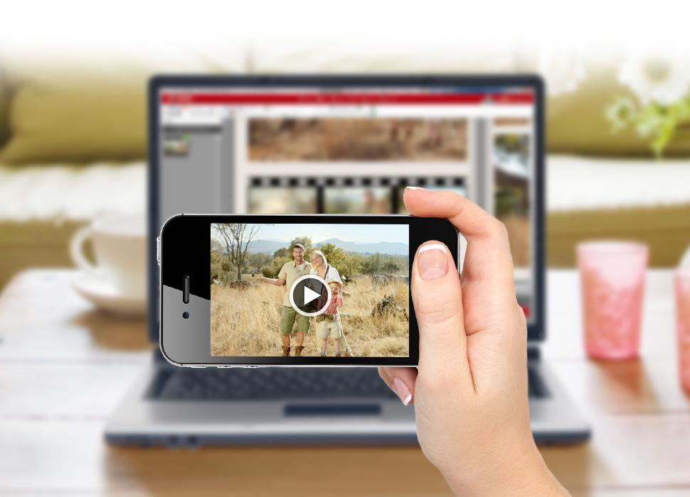4. Scanna in QR-koden med en smartphone eller tablet