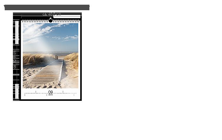 Väggkalender A2 - fotopapper