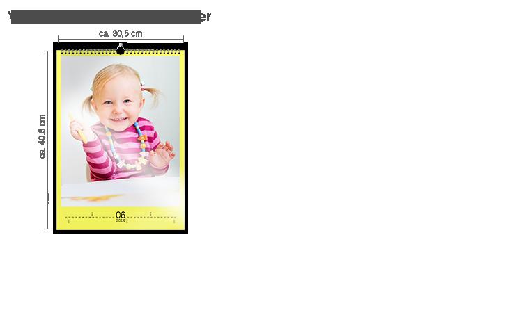 Väggkalender A3 - fotopapper