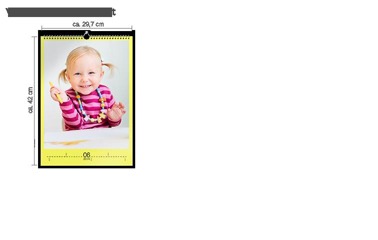 Väggkalender A3 - matt