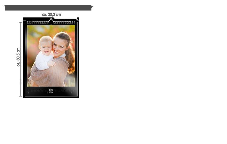 Väggkalender A4 - fotopapper