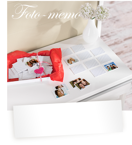 Memoryspel till bröllopet