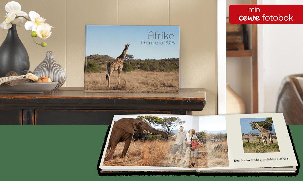 CEWE FOTOBOK kompakt panorama på fotopapper