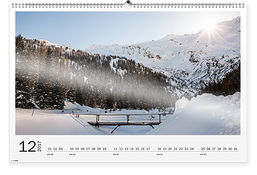 Väggkalender XXL