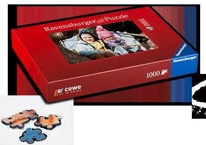 Pussel Ravensburger 1000 bitar