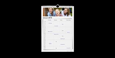 Familienkalender A4