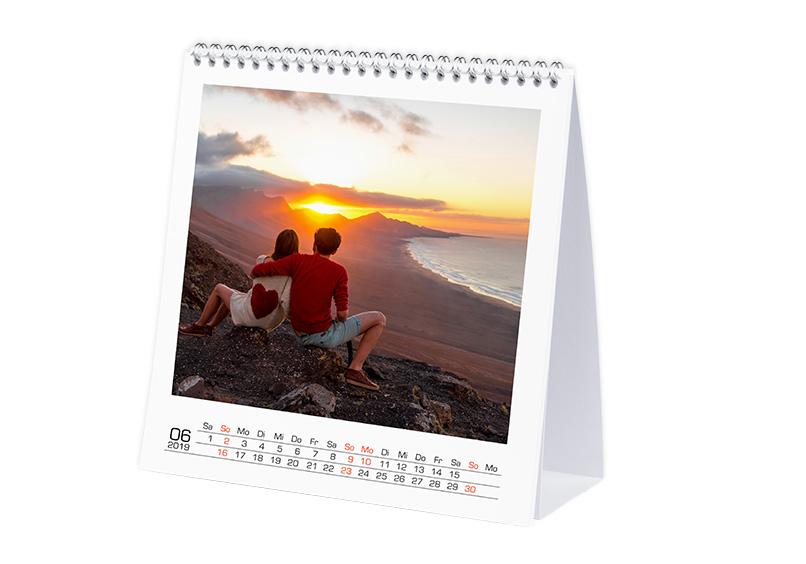 Stolový kalendár štvorcový veľký