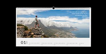 Wandkalender XXL Panorama Matt