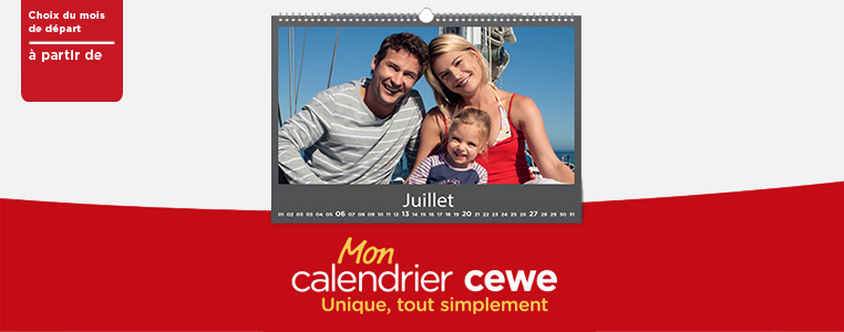Calendrier Photo Cewe
