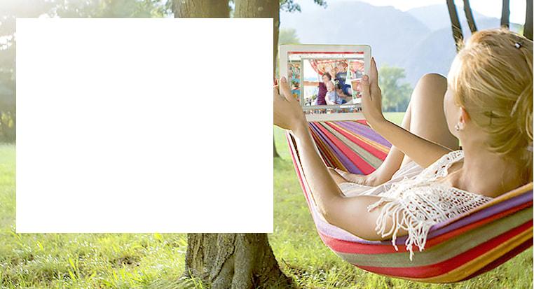 Créer votre album photo ou vos produits photos géniaux où que vous soyez !