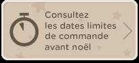 Consultez les dates limites de commande avant noël