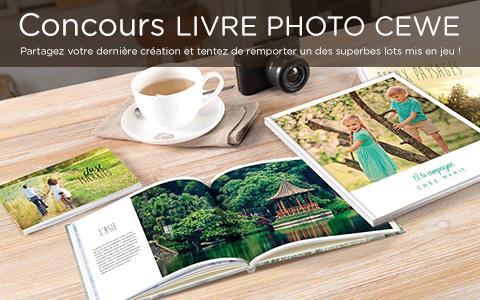 Concours LIVRE PHOTO CEWE