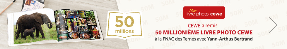 CEWE remet le 50 Millionième LIVRE PHOTO CEWE