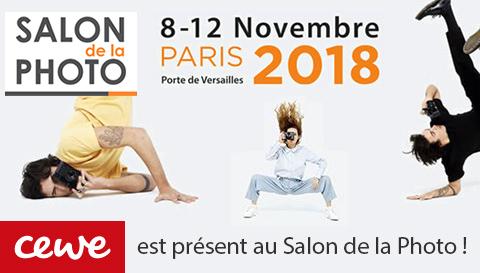 CEWE est présent au Salon de la Photo 2018