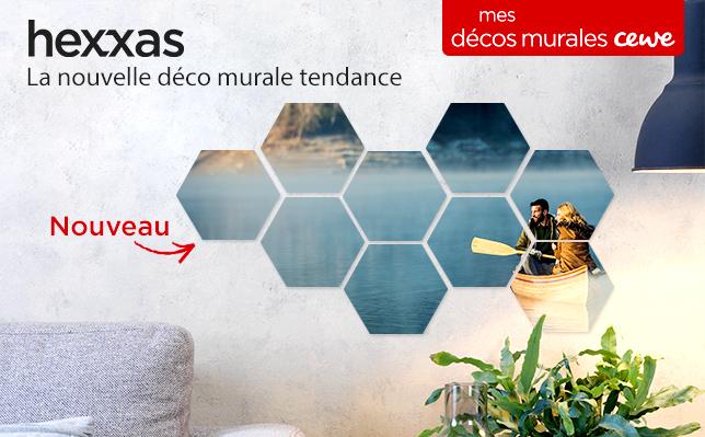 Hexxas - La nouvelle déco murale tendance