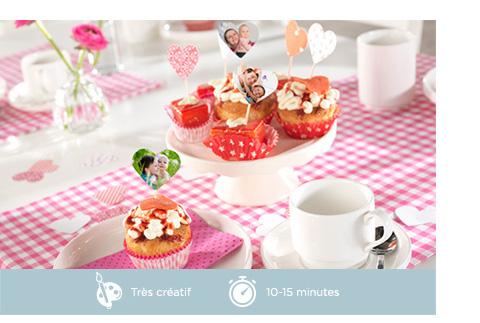 Astuce recette : Cupcakes aux fraises