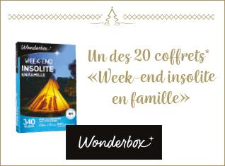 Gagnez un des 20 coffrets «Week-end insolite en famille»