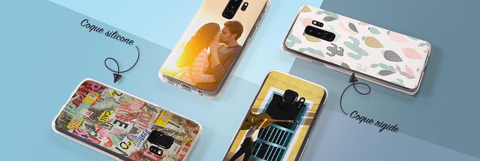 Découvrez les coques de smartphone compatible pour Samsung Galaxy S9® et S9 Plus®