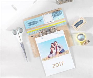 Personnaliser un calendrier devient un jeu d'enfant!