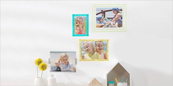 Des cadres photo simples pour les moments inoubliables