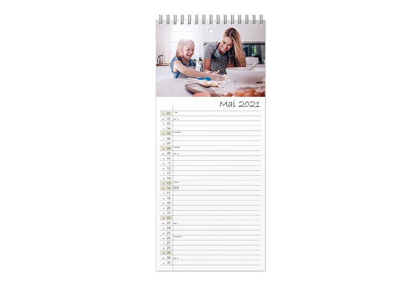 Bien-aimé Calendrier familial personnalisé : calendrier A3 avec photos | CEWE YA38