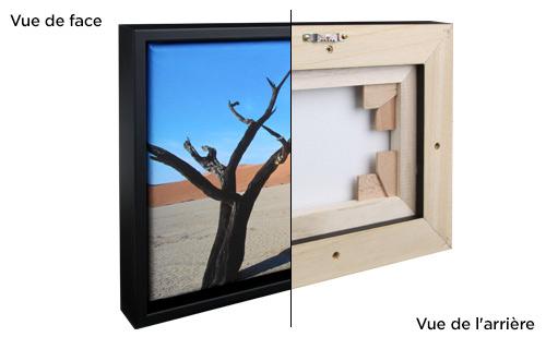 Photo sur toile avec cadre décoratif