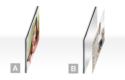 poster sur alu poster personnalis sur support en aluminium cewe. Black Bedroom Furniture Sets. Home Design Ideas