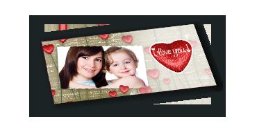 Carte de vœux personnalisée (lot de 10)