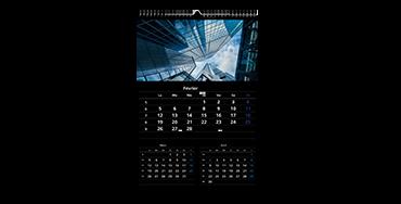 Calendrier photo A3 (trimestriel)