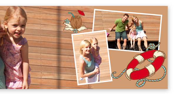 Embellissez votre livre photo cewe avec des cliparts