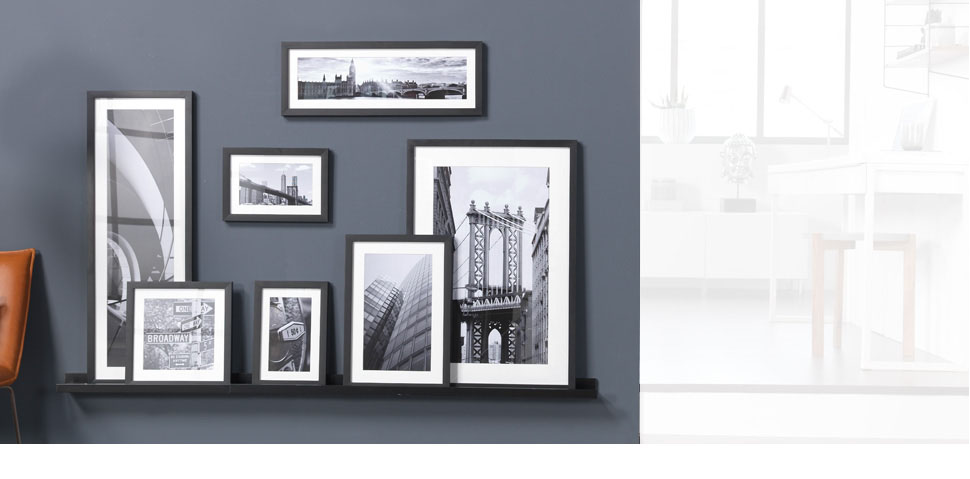 cadre photo personnalis cadre mural pour vos photos cewe. Black Bedroom Furniture Sets. Home Design Ideas