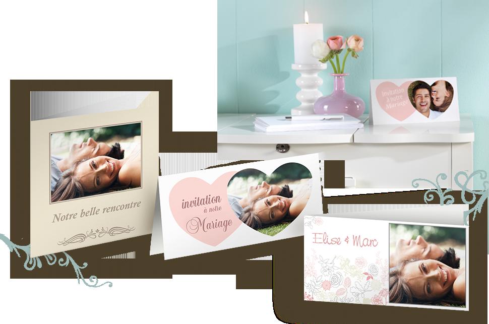 L'invitation parfaite à un mariage grâce à nos cartes de vœux