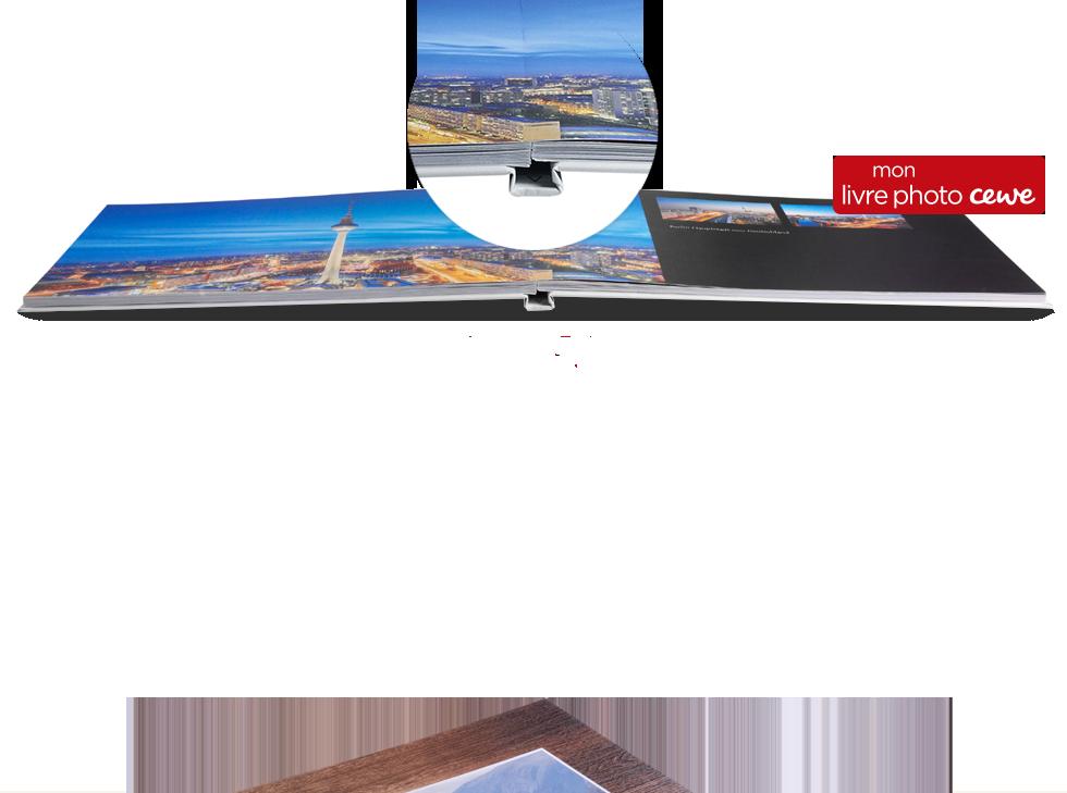 Le papier mat Premium avec ouverture à plat
