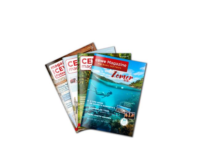 CEWE magazine gratis aanvragen