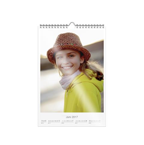 Wandkalender A4 premium mat