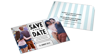 SAVE-THE-DATE-KAART (SET VAN 10)