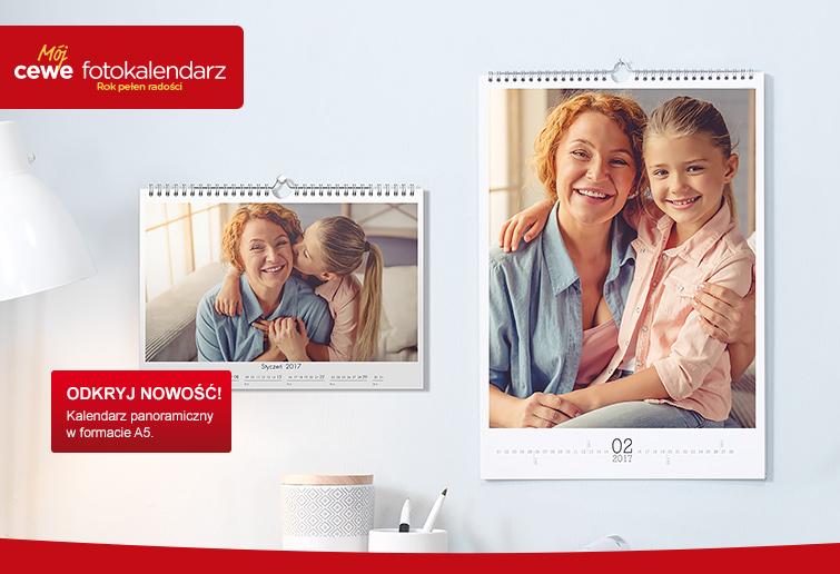 Fotokalendarze CEWE na 2016 rok